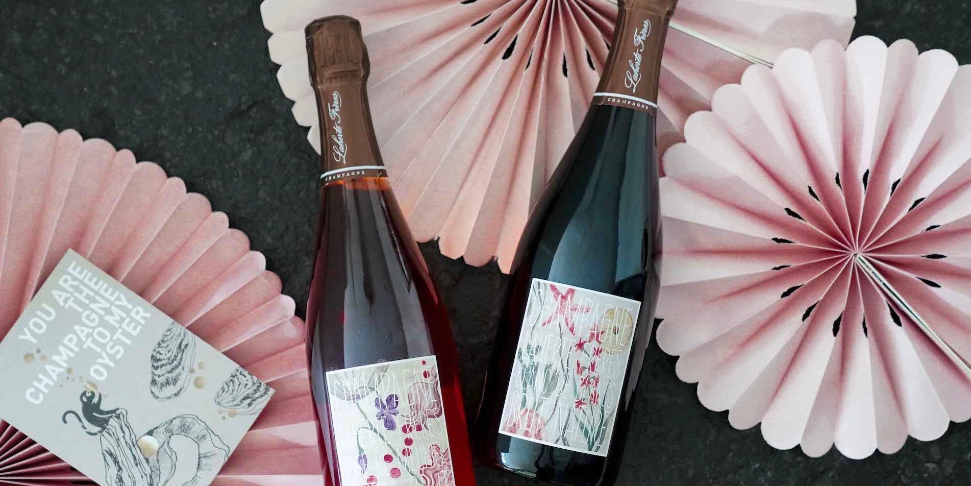 Champagner Abo Hochzeitsedition