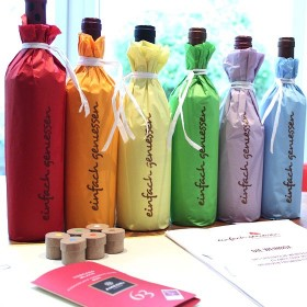 Weintraining - Die weiße Weinbox für zu Hause - ein spielerisches Weintraining mit Quiz