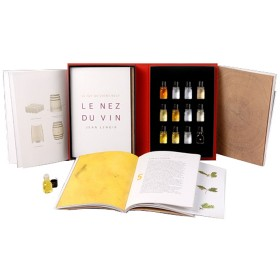 Weinaroma Set - Le Nez du Vin - Barrique-Aromen 12 Aromen * nur in englischer Sprache verfügbar *