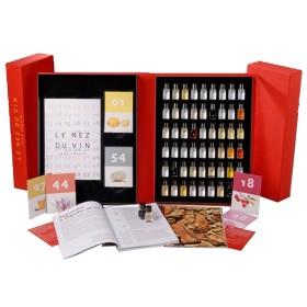 Weinaroma Set - Le Nez du Vin - Gesamtpaket 54 Aromen Masterkit - 'Die Schatztruhe'