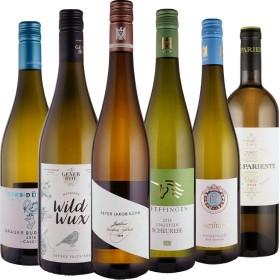Weißweinpaket - Unsere Stars in weiß! - 6 Flaschen 0,75 ltr. mit detaillierten Beschreibungen