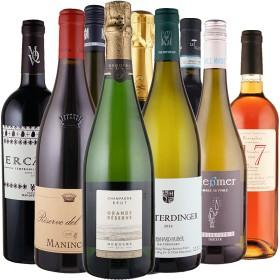 Probierpaket Hochzeitswein - 9 Flaschen 0,75 ltr. mit detaillierten Beschreibungen<br>