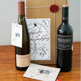 Präsent - Perfektes Duo - Rotwein Cuvée 'Der kleine Francois' & Silvaner 'Alte Reben'