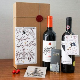 Rotwein Klassiker - Chianti Classico, Rioja Crianza & Zotter Schokolade <br>