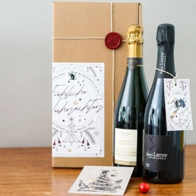 Zum Gutgehen lassen - Champagner Rémi Leroy extra brut, Champagner Dehours Grande Reserve brut <br>