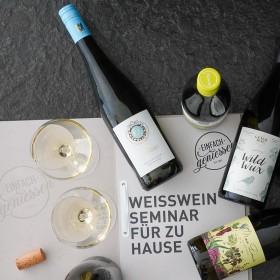 Weißweinseminar für zu Hause