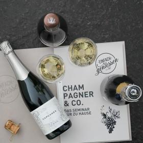 Champagner & Co. - Seminar für zu Hause