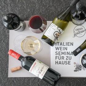 *jetzt neu* Italien Weinseminar für zu Hause
