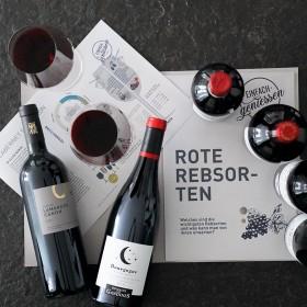 *jetzt neu* Rote Rebsorten - das Weintraining für zu Hause