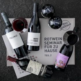 *jetzt neu* Rotweinseminar für zu Hause - die Fortsetzung