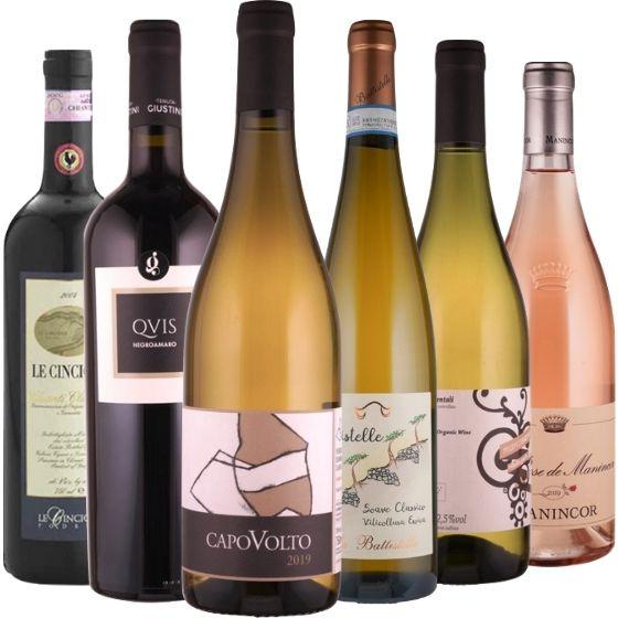 Das Italien-Weinpaket - 6 Flaschen 0,75 ltr.