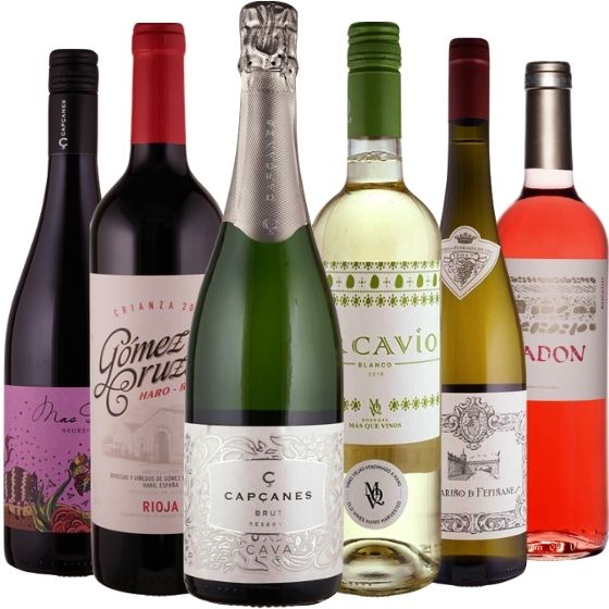 Das Spanien-Weinpaket - 6 Flaschen 0,75 ltr.
