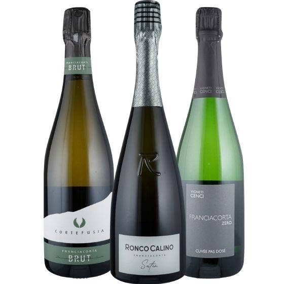 Kennenlernpaket Franciacorta - 3 Flaschen 0,75 ltr. mit detaillierten Beschreibungen