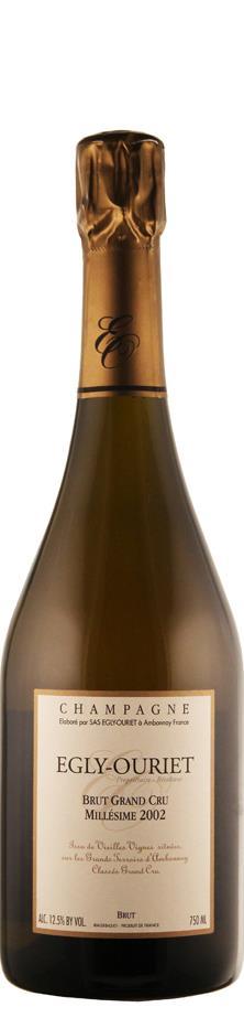 Champagne Egly-Ouriet Champagne Grand Cru Millésimé brut 2002 brut Champagne - Montagne de Reims Frankreich