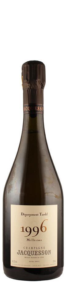 Champagne Millésimé brut Dégorgement Tardif 1996  - Jacquesson