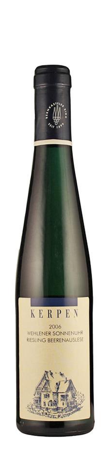 Weingut Kerpen Riesling Beerenauslese Wehlener Sonnenuhr 2006 edelsüß Mosel Deutschland