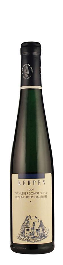 Weingut Kerpen Riesling Beerenauslese * Wehlener Sonnenuhr 1999 edelsüß Mosel Deutschland