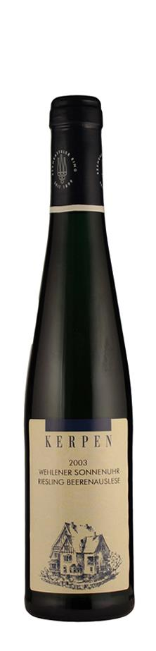 Weingut Kerpen Riesling Beerenauslese Wehlener Sonnenuhr 2003 edelsüß Mosel Deutschland