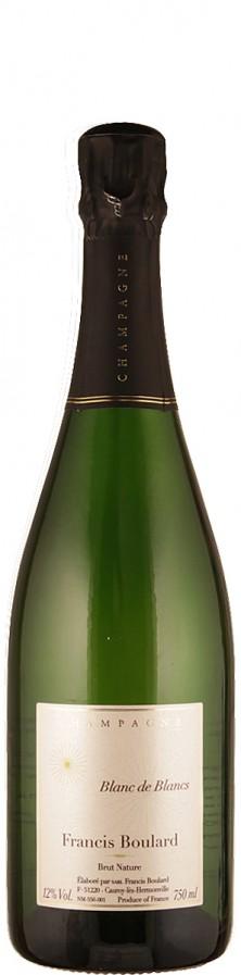 Francis Boulard Champagne Blanc de Blancs brut nature - bio brut natur Champagne - Massif de Saint Thierry Frankreich