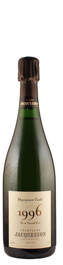 Champagne Grand Cru Millésimé brut Avize Dégorgement Tardif 1996  - Jacquesson