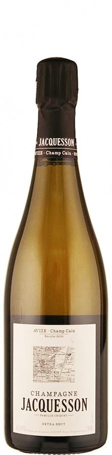 """Champagne Millésimé brut Avize """"Champ Cain"""" 2005  - Jacquesson"""