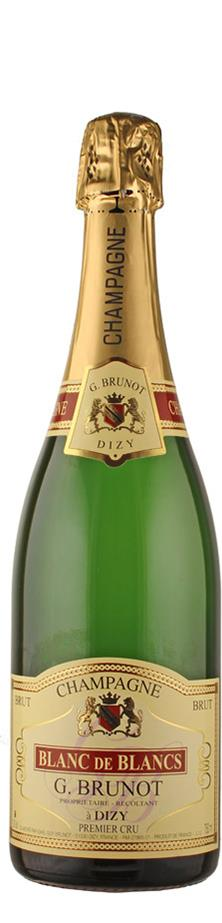 Champagne blanc de blancs brut Premier Cru   - Brunot, Guy