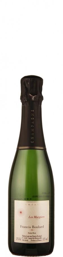 Francis Boulard Champagne Blanc de Noirs extra brut Les Murgiers - halbe Flasche  - bio extra brut Champagne - Massif de Saint Thierry Frankreich