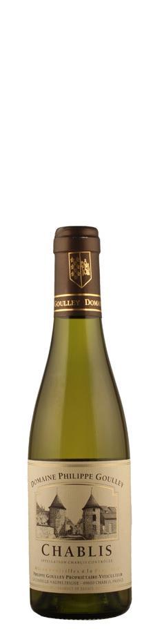 Domaine Philippe Goulley Chablis - halbe Flasche 2013 - bio trocken Burgund Chablis Frankreich