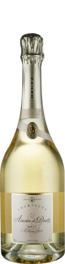 Champagne Millésimé blanc de blancs brut Amour de Deutz 2010  - Deutz