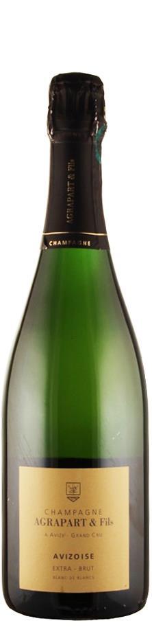 Agrapart & Fils Champagne Grand Cru blanc de blancs extra brut Avizoise 2007 extra brut Champagne - Côte des Blancs Frankreich