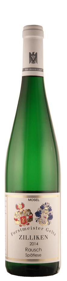 Weingut Forstmeister Geltz-Zilliken Riesling Spätlese Saarburger Rausch 2014 süß Mosel Deutschland