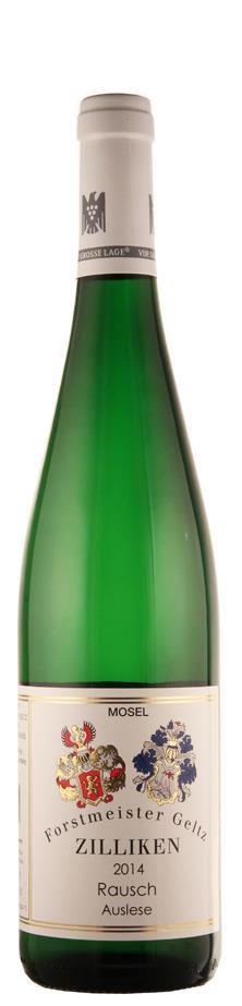 Weingut Forstmeister Geltz-Zilliken Riesling Auslese Saarburger Rausch - GK 2015 süß Mosel Deutschland