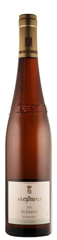 Weingut Meßmer Riesling GG - Grosses Gewächs Schäwer 2012 trocken Pfalz Deutschland