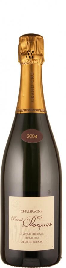 Pascal Doquet Champagne Blanc de Blancs Grand Cru brut Le Mesnil sur Oger 2004 - bio brut Champagne - Côte des Blancs Frankreich
