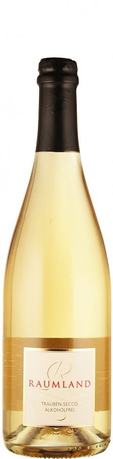 Weißer Trauben-Secco - alkoholfrei   - Raumland