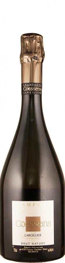 Coessens Champagne blanc de noirs brut nature Lieu-dit Largillier