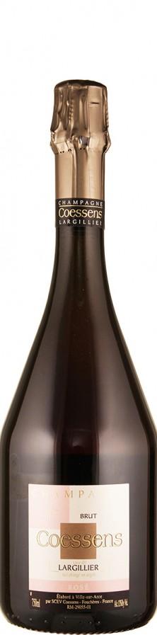 Champagne Rosé brut Lieu-dit Largillier   - Coessens