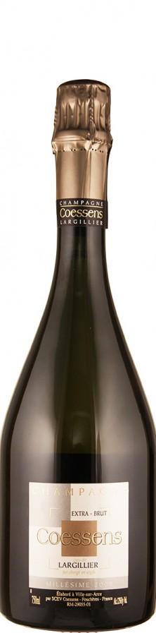Champagne Millésimé extra brut Lieu-dit Largillier 2009  - Coessens