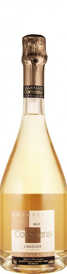 Champagne brut Lie-dit Largillier - Les Sens Boisés   - Coessens