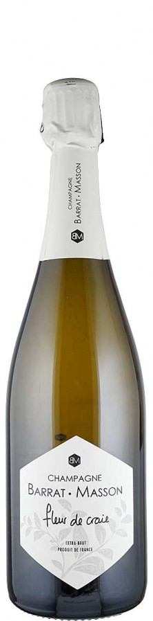 Champagne Blanc de Blancs extra brut Fleur de Craie  - FR-BIO-01 - Barrat-Masson
