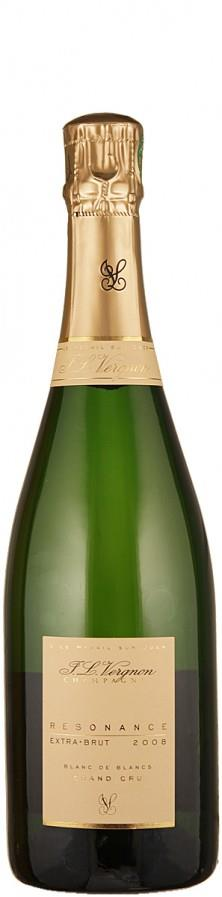 Vergnon, J. L. Champagne Grand Cru Millésimé blanc de blancs extra brut Resonance 2008 extra brut Champagne - Côte des Blancs Frankreich