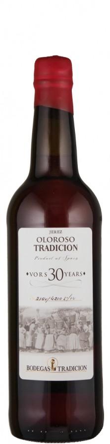 Bodegas Tradicion Sherry Oloroso Tradicion 30 Jahre trocken Jerez D.O. Spanien