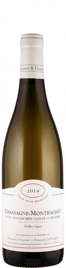 Chassagne-Montrachet Premier Cru Clos de la Truffières Vieilles Vignes 2014  - Domaine Vincent & François Jouard