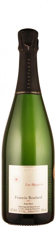 Francis Boulard Champagne Blanc de Noirs extra brut Les Murgiers