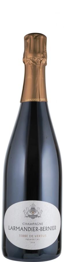 Champagne Premier Cru Blanc de Blancs brut nature Terre de Vertus 2014 Biowein - FR-BIO-01 - Larmandier-Bernier