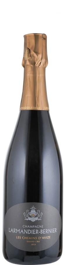 Champagne Grand Cru Blanc de Blancs extra brut Le Chemins d'Avize 2013 Biowein - FR-BIO-01 - Larmandier-Bernier