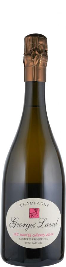 Champagne Premier Cru Blanc de Noirs brut nature Cuvée Les Hautes Chèvres 2014 Biowein - FR-BIO-01 - Laval, Georges