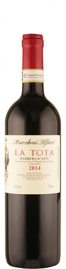 Marchesi Alfieri Barbera d'Asti La Tota 2014 trocken Piemont Italien