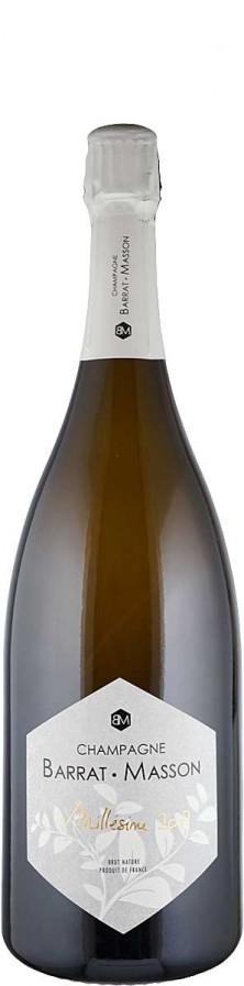Champagne Millésimé Blanc de Blancs brut nature - MAGNUM  2012 Biowein - IT-BIO-013 - Barrat-Masson