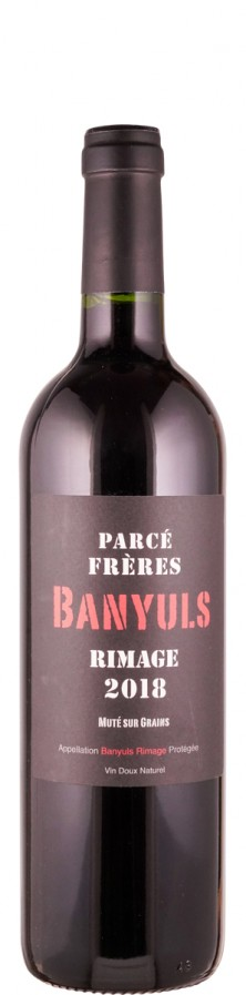 Parcé Frères Banyuls Rimage 2016 süß Roussillon Frankreich